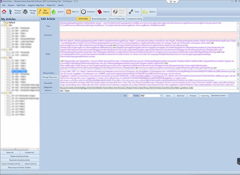 Article-Kevo Screenshot
