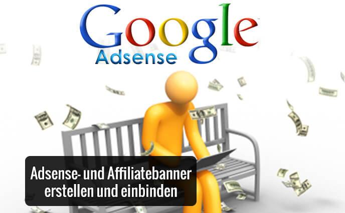 Adsense- und Affiliate Banner erstellen und einbinden