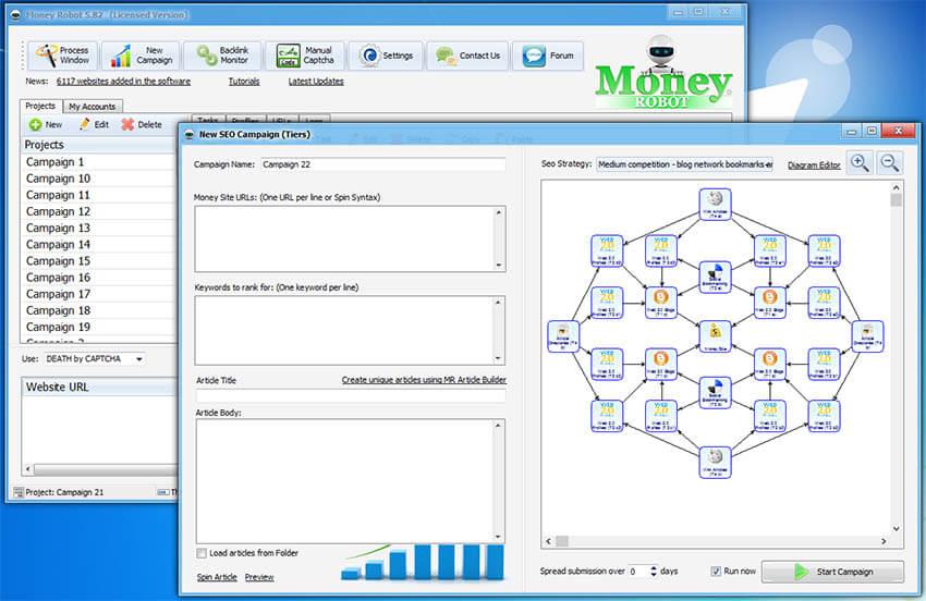 Money Robot Screenshot
